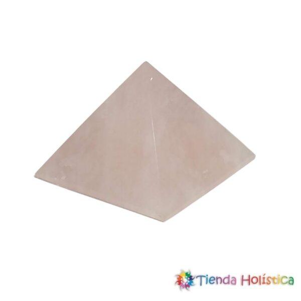Pirámide Cuarzo Rosado