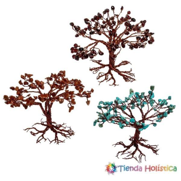 Árboles en alambre de cobre